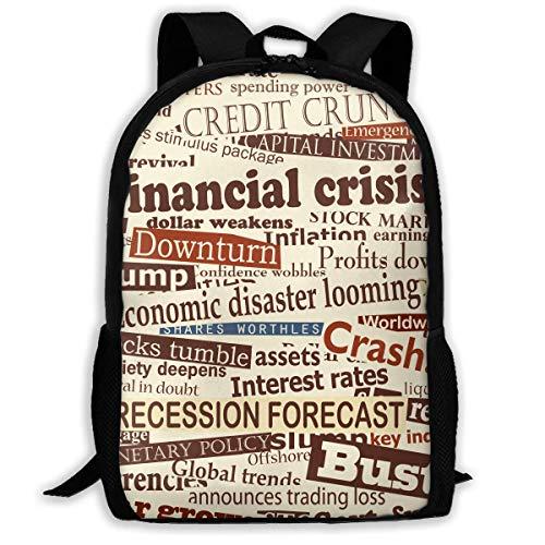 hengshiqi Rucksack Schultasche,Backpack, Travel Backpack Laptop Backpack Large Diaper Bag - English Backpack School Backpack for Women & Men