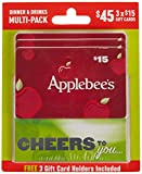 Applebee's Dinner and Drinks Gift Cards, Multipack of 3 - $15