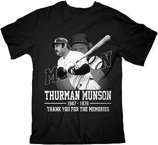 Munson Rest New York Baseball Catcher Remember In Heaven 1947 1979 Customized Handmade T-Shirt Hoodie/Long Sleeve/Tank Top/Sweatshirt