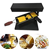 Red tide Tilted Raclette Maker Melt Formaggio Macchina, Formaggio Raclette Elettrico Melter Grattugia Heater Antiaderenti Kitchen Appliance