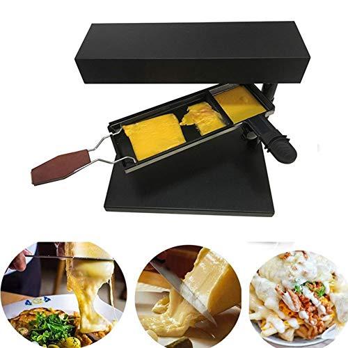 Inclinado Raclette Fundido De Queso De Máquina, Queso Raclette Fusor Rallador De Queso Calentador Antiadherente Aplicación De Cocina