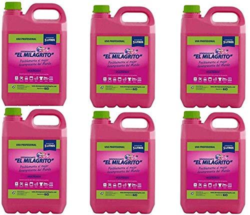 EL MILAGRITO Lote 6 DE 5 litros
