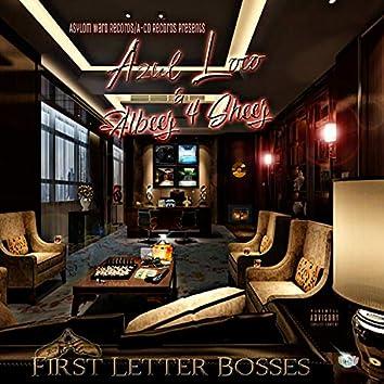 First Letter Bosses