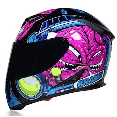 Casco integral para ciclismo Casco de seguridad para moto Casco integral Carretera...