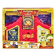 The Treasure X Ninja Gold Battle Pack packaging transforms into a Ninja Dojo Playset to battle in Discover 3 Compound Experiences: Golden Wax, Glow-in-the Dark Solar Sand, and Shadow Sand! Save the Exclusive Shadow and Light Treasure Hunters! Chop th...