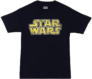 تي شيرت كلاسيكي للكبار بشعار Star Wars