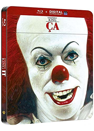 Blu-ray Ça Stephen King It [ It Uma Obra Prima do Medo ] [ Steelbook ]