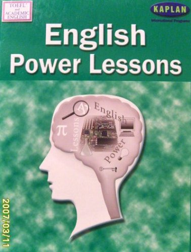 English Power Lessons Toefl And Academic English