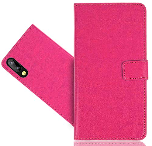 Elephone A6 Mini Handy Tasche, CaseExpert® Wallet Case Cover Flower Bling Diamond Hüllen Etui Hülle Ledertasche Lederhülle Schutzhülle Für Elephone A6 Mini