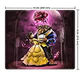 DISNEY COLLECTION Mouse Pad Beauty and The Beast Design Mouse Pad for Gamers Home and Office 260mm210mm3mm