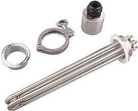 """Popular 2""""TRI-klem elektrische verwarmer element geschikt voor het brouwen van SUS304 64 mm Flens 220V / 380V 3KW / 4,5KW..."""