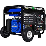 DuroMax XP12000EH Generator-12000 Watt Gas or Propane Powered Home Back Up & RV Ready, 50 State Approved Dual Fuel Electric Start...