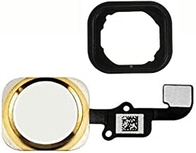 FirefixTM for iPhone 6S and 6S Plus Home Button with Flex Cable and Touch ID Sensor Assembly (Gold)