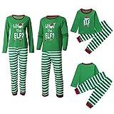 JYKING Family Matching Árbol de Navidad, pijama para niños y adultos, set de vacaciones de Navidad, juego de ropa interior Diseño navideño. 90 cm (4-5 años)