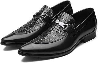 Scarpe da uomo,Scarpe in cuoio per ufficio di lavoro a piedi primaverili Scarpe formali di Banchetto casuale del banchetto...