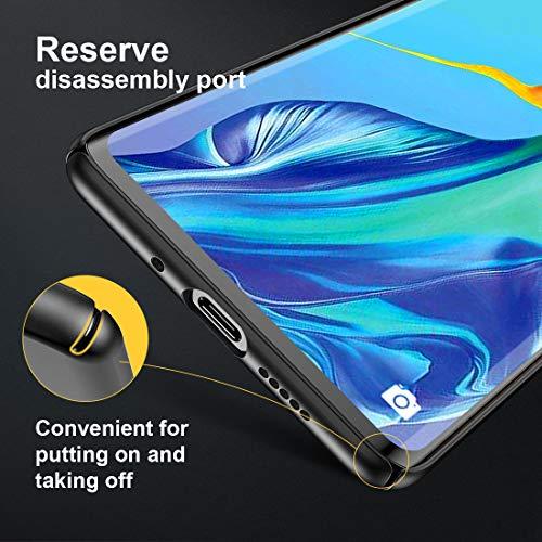 Humixx Hülle für Huawei P30 Pro, Hochwertigem Ultra Dünn Leichte Handyhülle Stoßfest, Anti-Fingerprint, Anti-Scratch Feine Matte Cover Schutzhülle Schale Hardcase für Huawei P30 Pro - 5