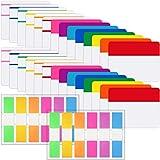 Index Tab Adesive Schede dei Marcatori di Pagina 3 Formati Schede dei File Bandiera per per Pagine o Indicatori di Libri, Note di Lettura, Classificare i File, 40 Set 14 Colori (800 Pezzi,Stile C)