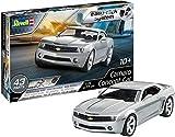 Revell Easy Click System Voiture Camaro Concept Car-échelle 1/25-niveau 2/5 Maquette, 07648, Argenté