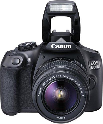 Canon EOS 1300D Kit Fotocamera Reflex Digitale da 18...