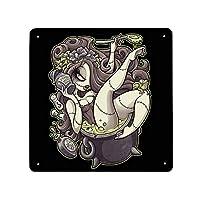 メタルブリキ看板 ワームのワームスープ 金属ポスター 金属板ブリキ看板 装飾 鉄絵画 鉄の絵画 掛け物 多機能ホーム装飾 ホームデコポスター ウォールアート 模様替え 個性ギフト 玄関に飾る ショップ装飾 ポスター レトロ居酒屋 面白い