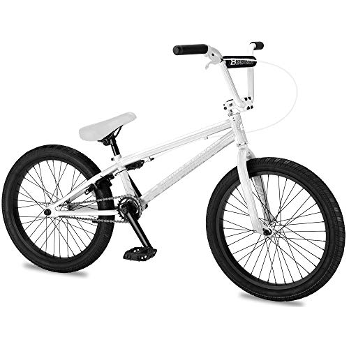 Eastern Bikes Eastern BMX Bikes - Lowdown Model Boys and Girls 20 Inch Bike. Lightweight Freestyle Bike Designed by Professional BMX Riders at (White)