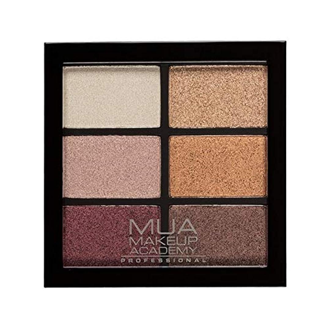 フェッチ適応的アナリスト[MUA] Muaプロ6日陰パレット錆びた不思議 - MUA Professional 6 Shade Palette Rusted Wonders [並行輸入品]