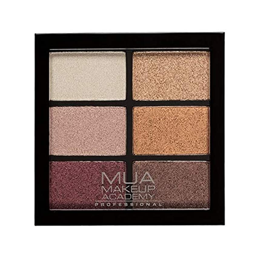 アラブ大混乱角度[MUA] Muaプロ6日陰パレット錆びた不思議 - MUA Professional 6 Shade Palette Rusted Wonders [並行輸入品]