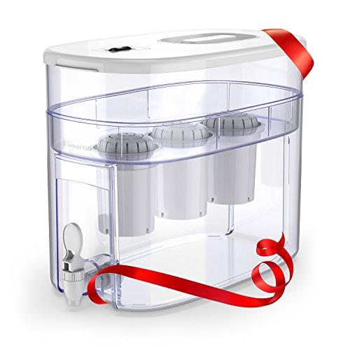 pH RECHARGE 3F - Sistema depurador e ionizador de mesa - Con filtro para...