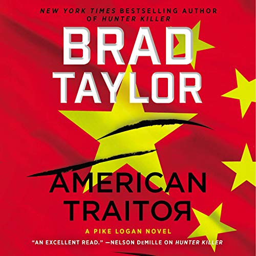 American Traitor Audiobook By Brad Taylor cover art