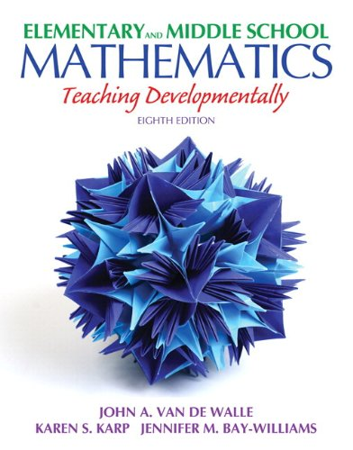 Elementary and Middle School Mathematics: Teaching Developmentally Plus MyEducationLab with Pearson eText -- Access Card