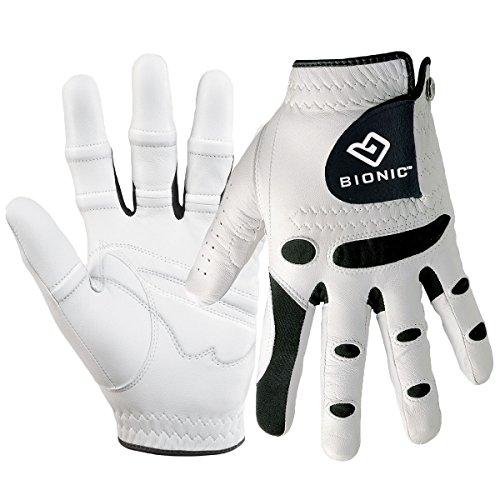 Bionic Gloves –Men's StableGrip Golf Glove W/ Patented Natural Fit...