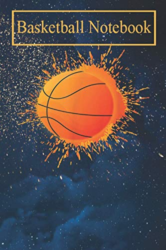Basketball Notebook: Basketball Slam Dunk Tee Shirt For Men and Boys T-Shirt-zH7AV Basketball Sports Journals For Kids