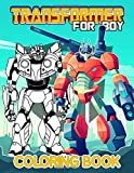 Transformer For Boy Coloring Book: High-Quality Transformer For Boy Coloring Books For Adults, Boys, Girls, (Colouring Pages For Stress Relief)