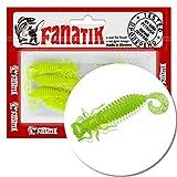 FANATIK Señuelo de plástico Blando Larva Lux 1.6' 2' 2.5' 3.5' 4-9cm con Aroma Jig Soft Baits...