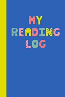 My Reading Log: 6 x 9