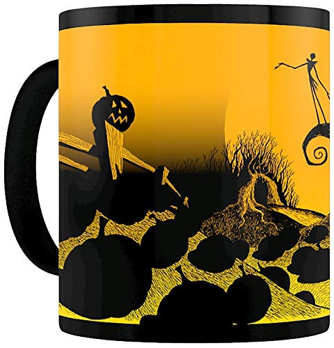 Pyramid International - Taza de café o té en Caja de cerámica, 21 x 29 x 1,3 cm, diseño navideño