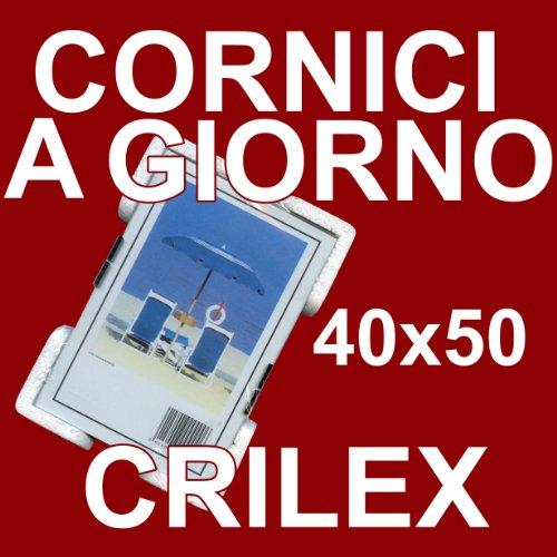 Cornice a Giorno 40x50 in Crilex Antinfortunistico e Ultra- Trasparente
