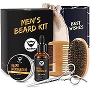Beard Balm Kit 8 Pcs Beard Grooming Kit for Men