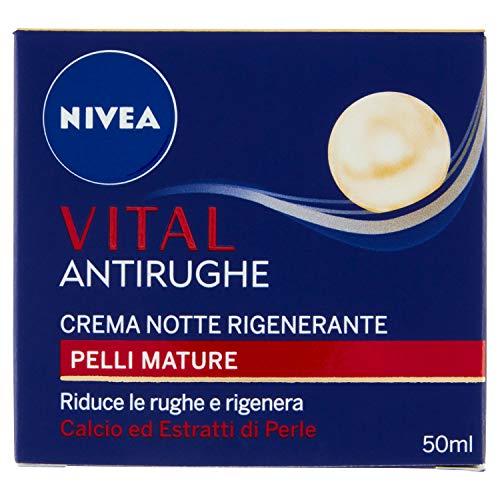 NIVEA Régénérant Vital Nuit 50 Ml.86601 Crèmes Pour Le Visage Et Des Masques