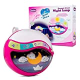 Play Baby Toys Magic Sleep Through The Night Soother Baby Crib Clip In Night Lamp With Multiple Melodies To Put Your Baby To Sleep, In Pink