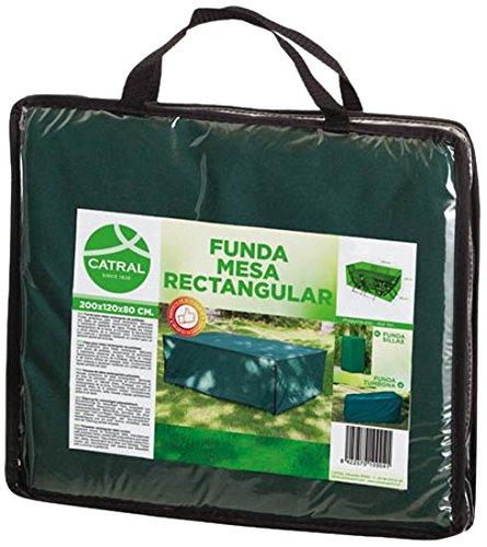 Catral 53010023-Housse de Protection pour Table Rectangulaire Polyester