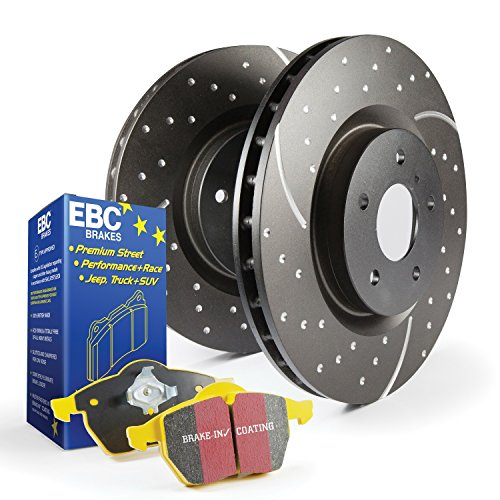 EBC Brakes S5KR1525 S5 Kits yellowstuff And GD Rotors