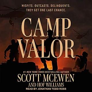 Camp Valor audiobook cover art