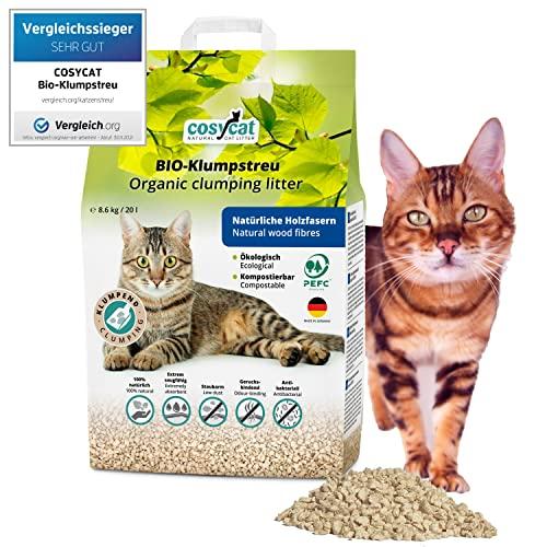 cosycat NATURAL CAT LITTER COSYCAT Klumpendes Bild