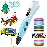 AGPTEK 3D Pen, 3D Printing DIY Doodler Pen with LCD Screen,300 Feet 30