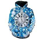 Rxtd&rz Reloj De Hombre con Capucha Y Estampado Superior - XL