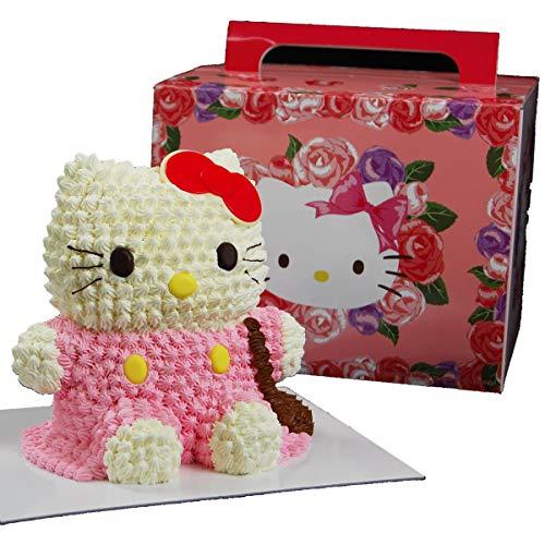 ハローキティ立体ケーキ(キティちゃんの3Dデコレーションケーキ)