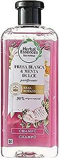 Herbal Essences Bio Renew: Shampoo con fragola bianca e menta dolce 400 ml