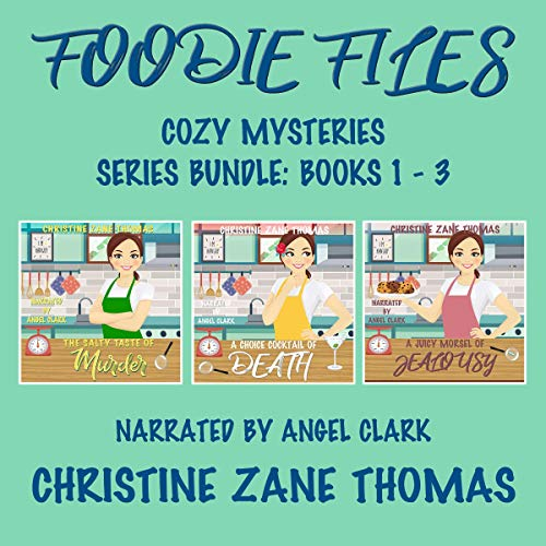 Foodie Files Cozy Mysteries cover art