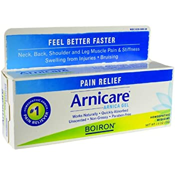 Boiron Homeopathic Medicine Arnicare Gel for Muscle Aches 2.6 Ounce Tube (Pack of 3)